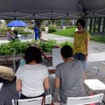 水都大阪イベントでカラーセラピーワークショップ。