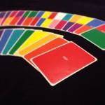 明日開催の第7回癒しマルシェで色の言霊カードを体験できます。
