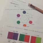 カラーセラピスト勉強会とチームコローレ忘年会。