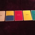 開講日にもそれぞれメッセージが。『色の言霊カードセラピスト養成講座』