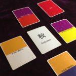 色の言霊カードで今年の仕事をリーディング。